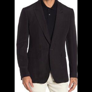 Burberry Sitwell Linen Blend Sport Coat Size 52R